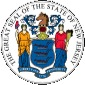 New Jersey Seal United States.