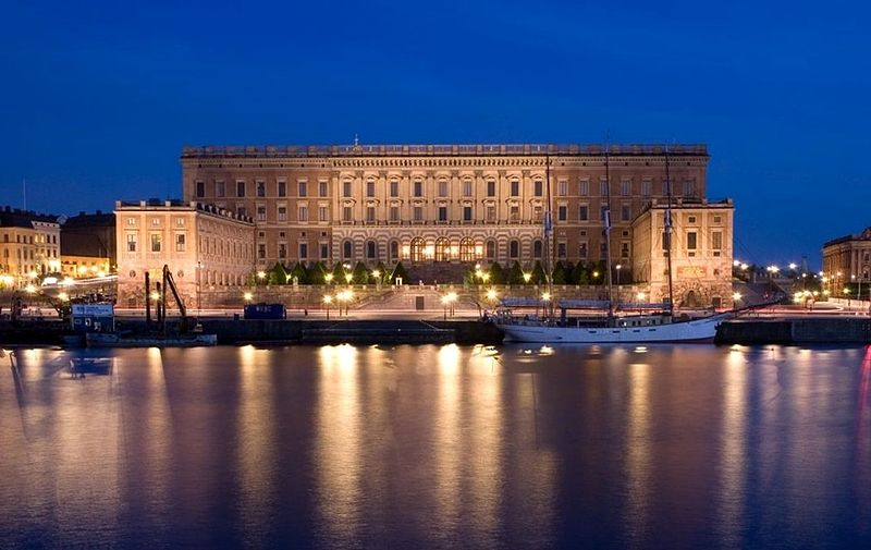 The Stockholm Palace Sweden