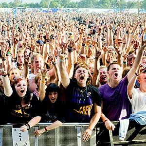 Roskilde Festival Denmark concert