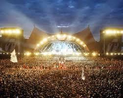 Roskilde music festival Denmark