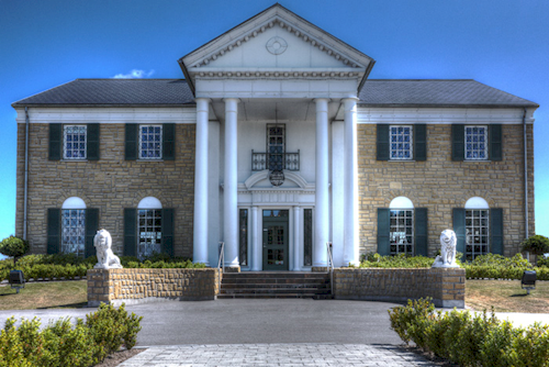 Memphis Mansion Graceland Randers