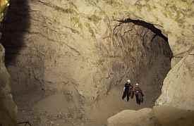 Høj hule i Mønsted Kalkgruber
