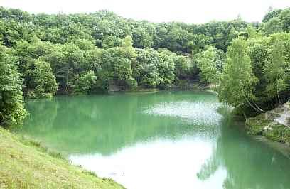 Sø ved Mønsted Kalkgrube