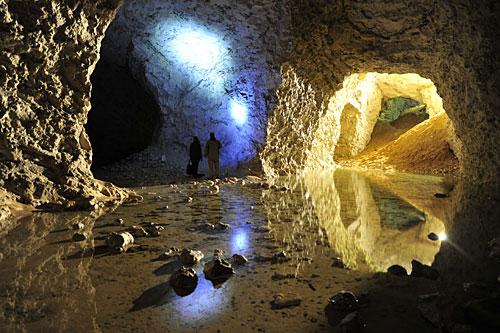 Kalkgruber Mønsted og Daubjerg Stoholm