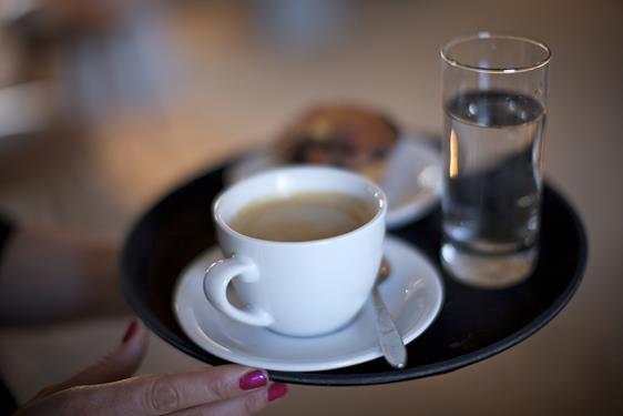 Caféen på Nordatlantens Brygge ligger i København