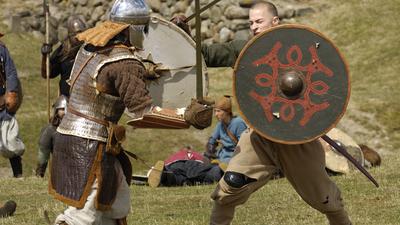 Vikingeborgen Trelleborg Slagelse