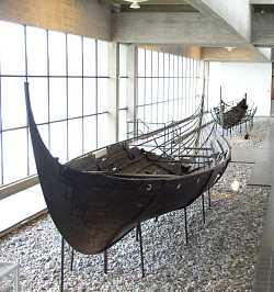 rekonstruktion af  Vikingeskibet Skuldelev 3 Roskilde