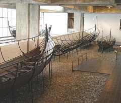 rekonstruktion af  Vikingeskibet Skuldelev 1 Roskilde