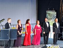 Kildemarked Opera og fest i Tisvilde. Tisvilde