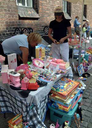 Børne Loppemarked på Axeltorv Helsingør