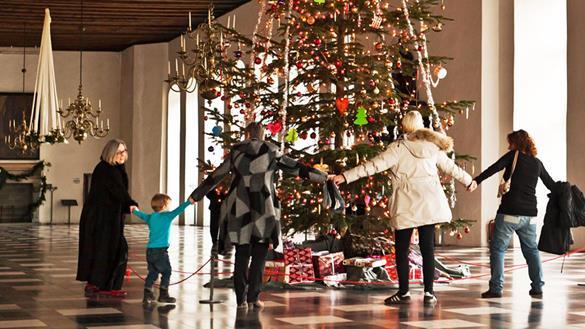Julekoncert på Kronborg med Brdr. Launbjerg Helsingør