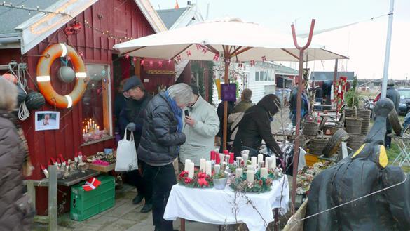 Jul i Hornbæk Den gamle Skurby Hornbæk