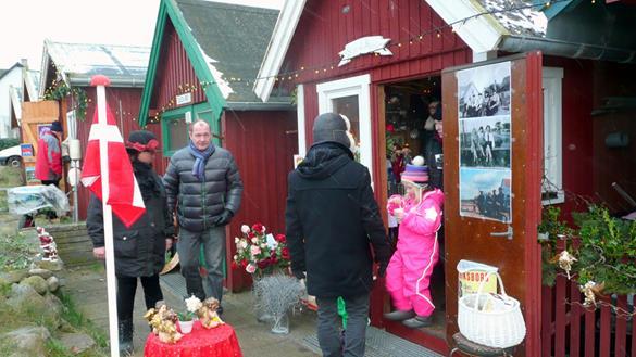 Jul i den gamle skurby Hornbæk