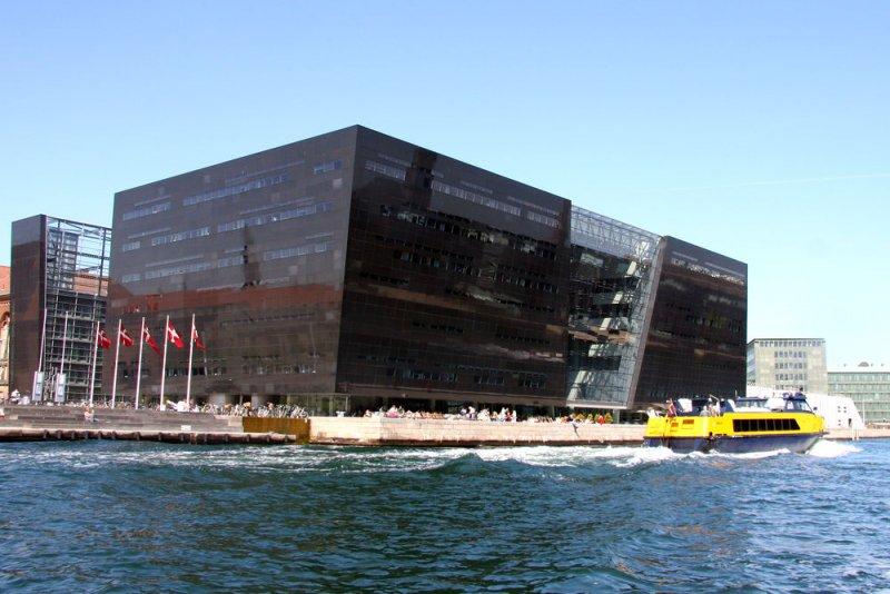 Den sorte diamant  Det Kongelige Bibliotek på Slotsholmen