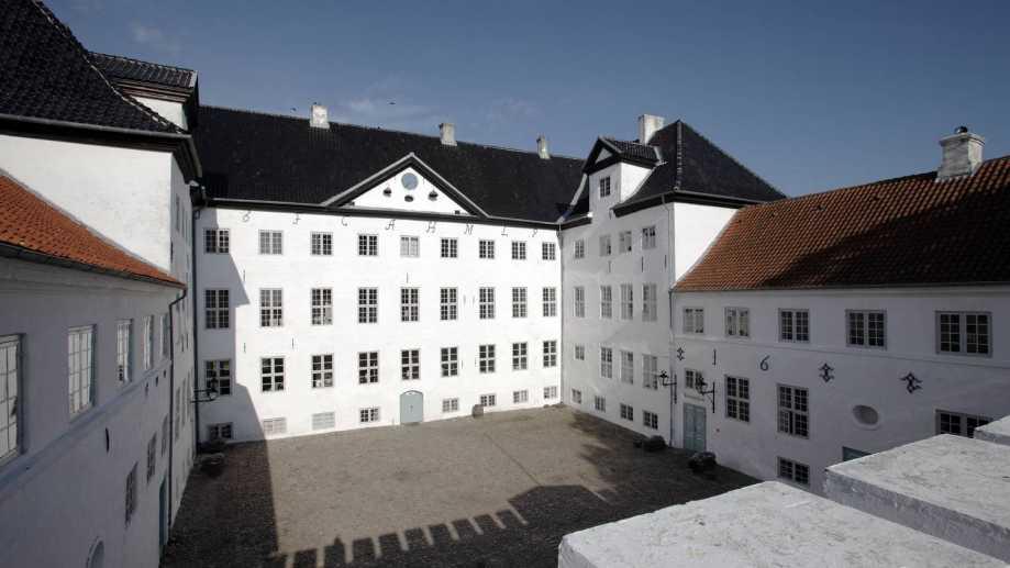 Dragsholm Slot Vestjaelland Denmark