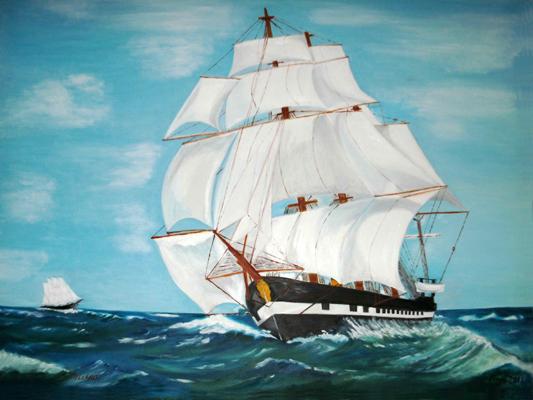 Fregatten Jylland Ebeltoft attraktioner Midtjylland ØST