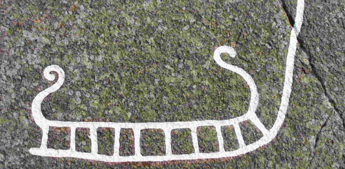 Bronzealderen og helleristninger på Bornholm Danmark