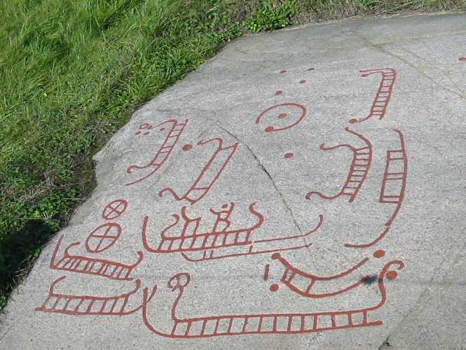 Bautastene og helleristninger på Bornholm