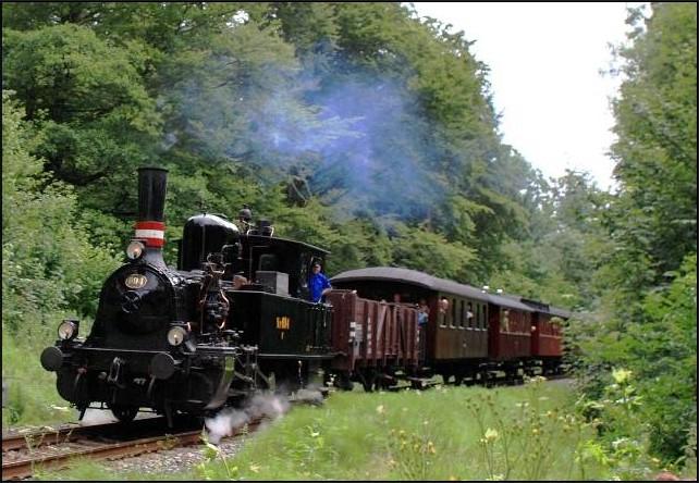 Veteran train Haderslev Vojens Haderslev