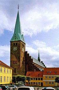 Elsinore Cathedral - St. Olavs church Danmark