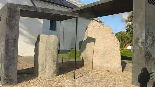 the two Jelling stones Jelling