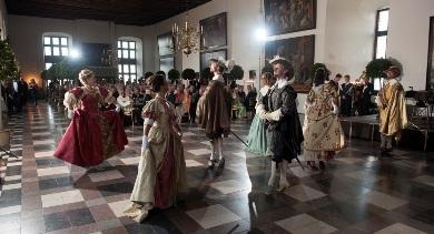 Dansesalen til fest og fornøjelse Hamlets Castle Elsinore