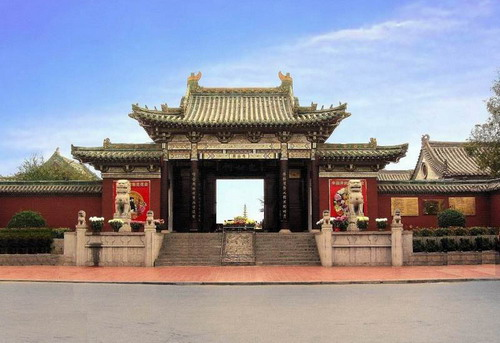 Temple of Lord Bao (Bao Zheng) Hefei China