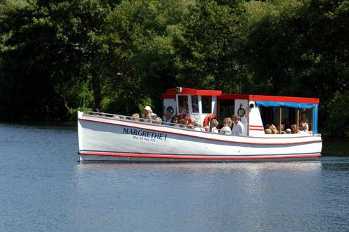 Margrethe I sejler på Viborg-søerne Viborg