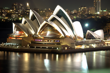 the Opera House in Sydney by Jørn Utzon Denmark