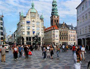 """walking street """"Strøget"""""""