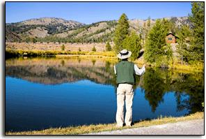 Idaho Rocky Mountain Ranch Stanley