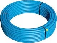 Billig vandrør 32 mm PN10 blå 100m
